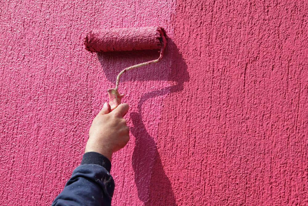 текстурные краски для отделки стен
