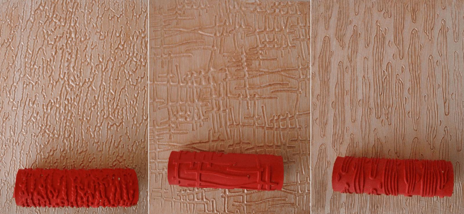 текстурнын краски с валиком