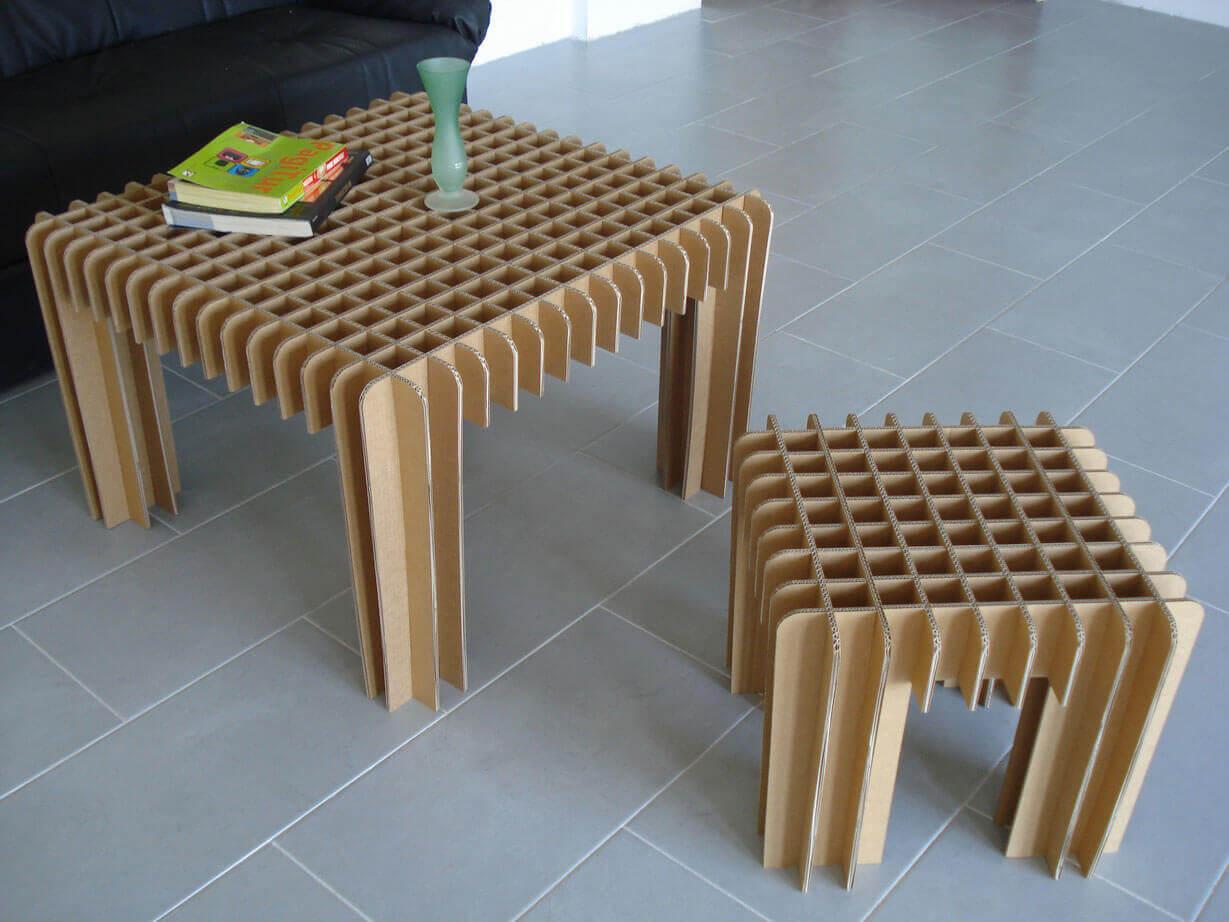 мебель из гофрокартона