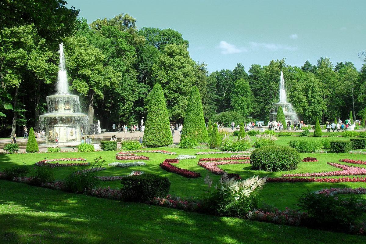 римские фонтаны Петергоф