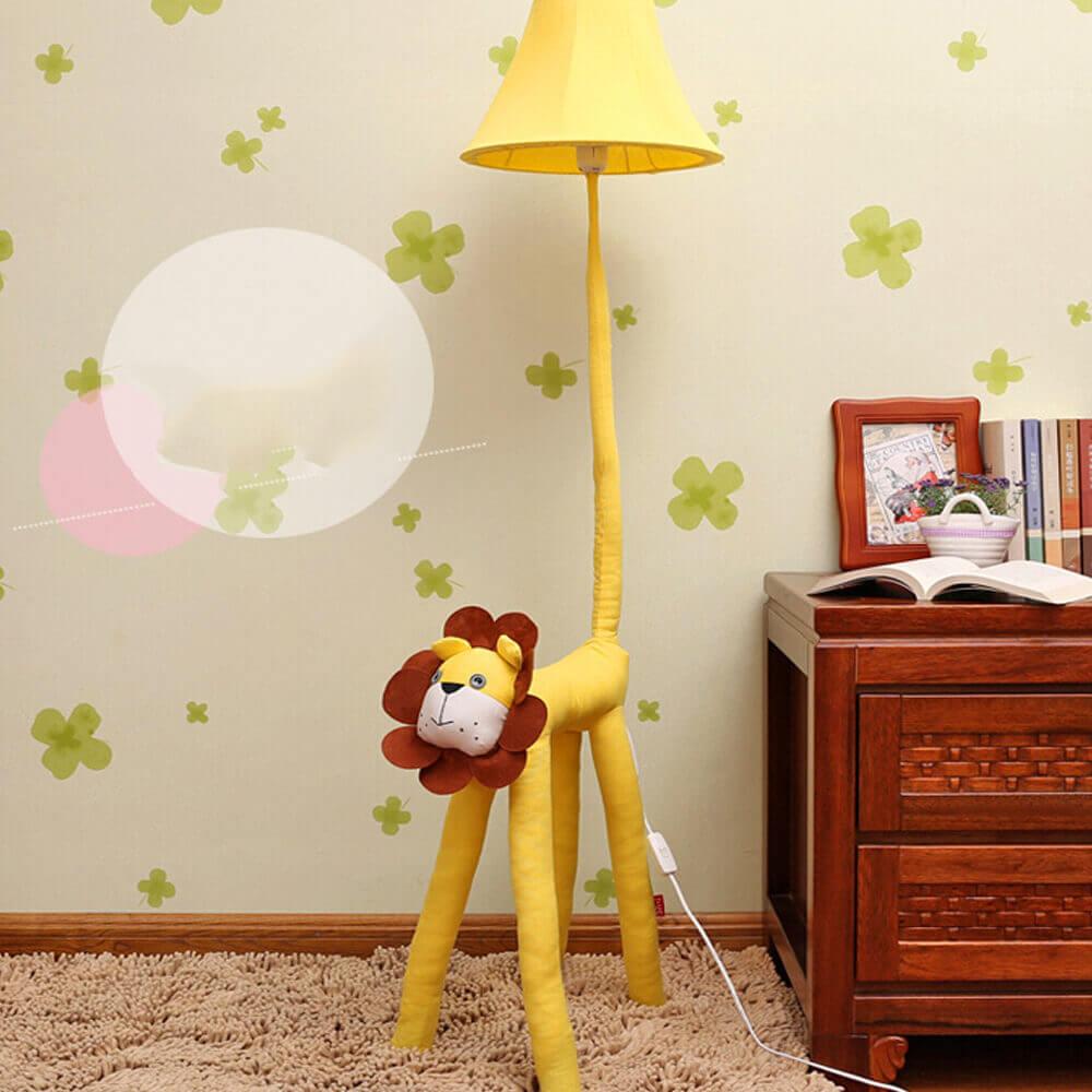 светильник в детской лев