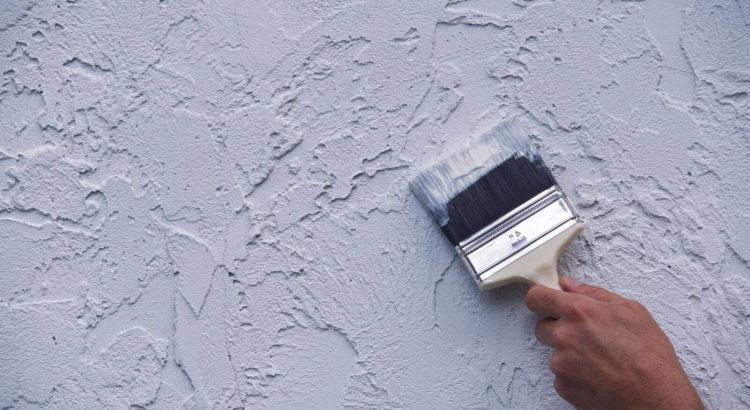 текстурная краска для отделки