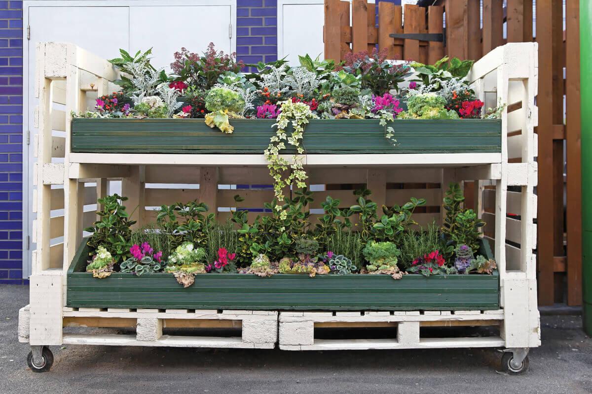 садовая мебель из поддонов своими руками фото