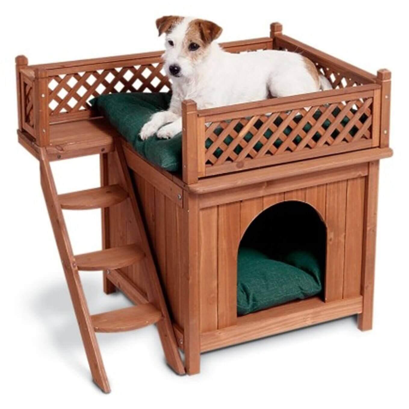будка для собаки на балкон