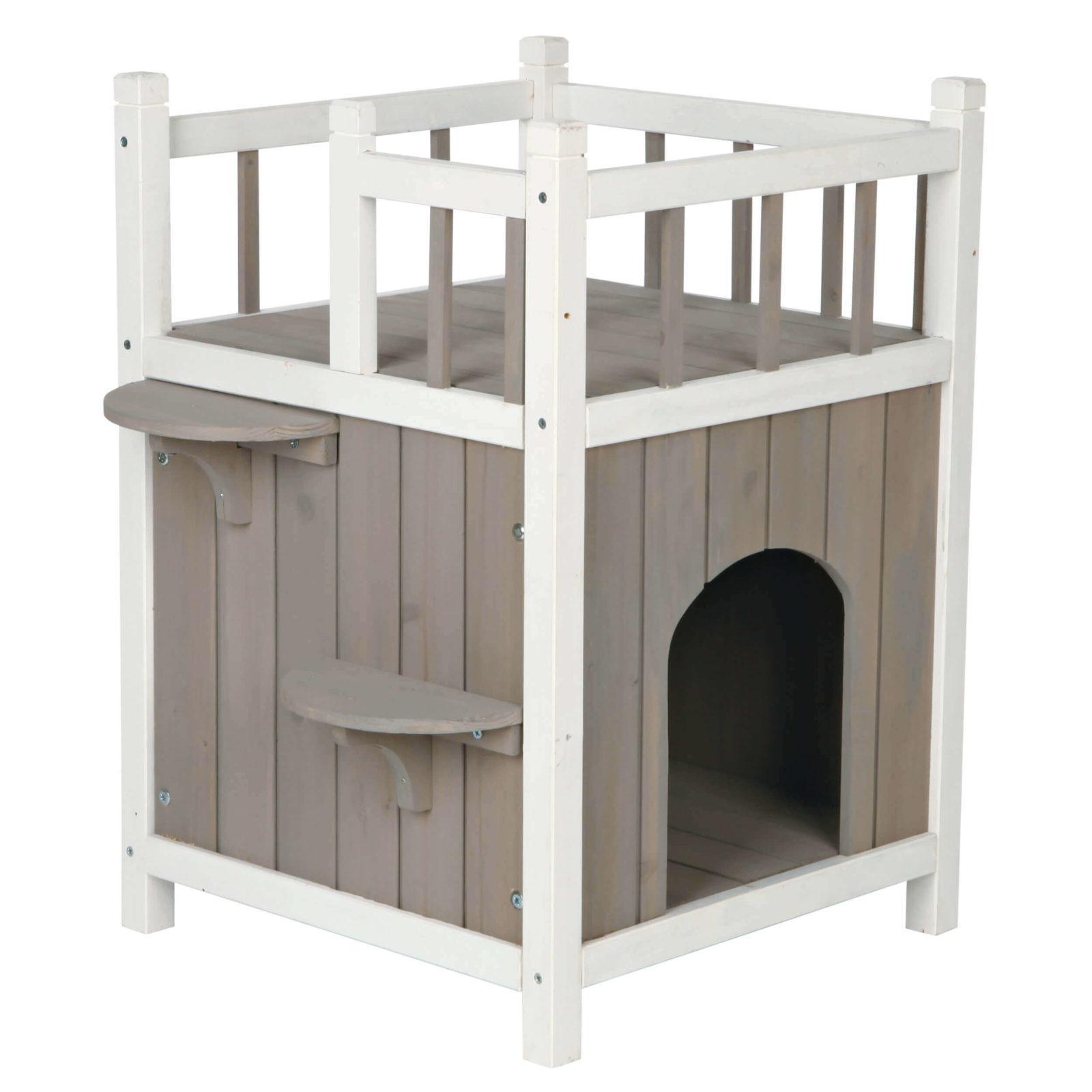 домик для кошки на балкон