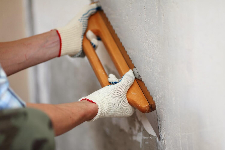подготовка стены под укладку плитки